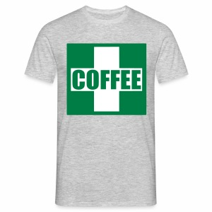 Emergency Coffee - Men's T-Shirt