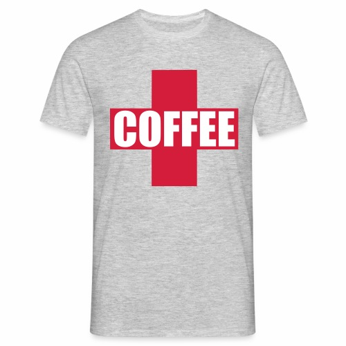 First Aid Coffee - Men's T-Shirt