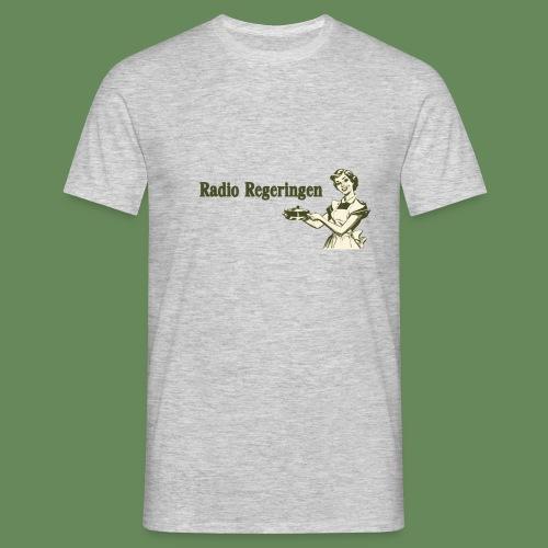 Radio Regeringen Grön Logga - T-shirt herr