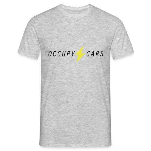 OCCUPY CARS logo - Männer T-Shirt