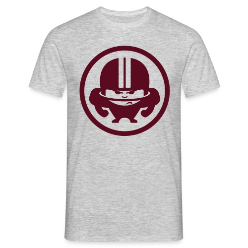 TJ CLASSIC BORDEUX - Männer T-Shirt