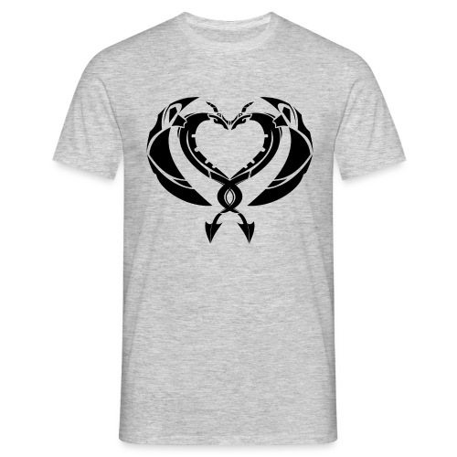 DragonCoeur - T-shirt Homme