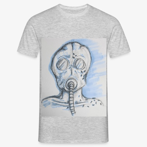 The surrealism of war (blue) - Men's T-Shirt