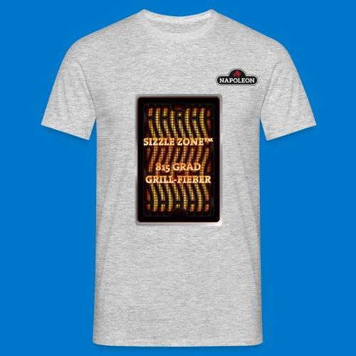 GRILL FIEBER - Männer T-Shirt