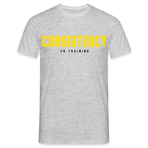 Consistency - Männer T-Shirt