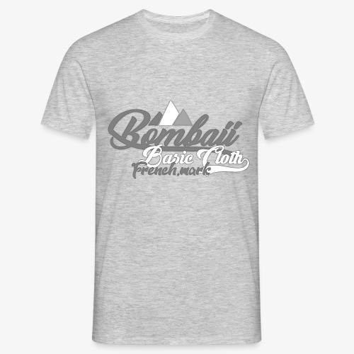 BomBaii french mountain grey - T-shirt Homme