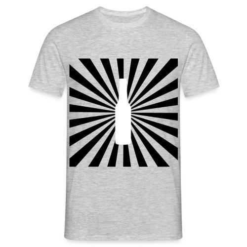 beer bottle - Männer T-Shirt