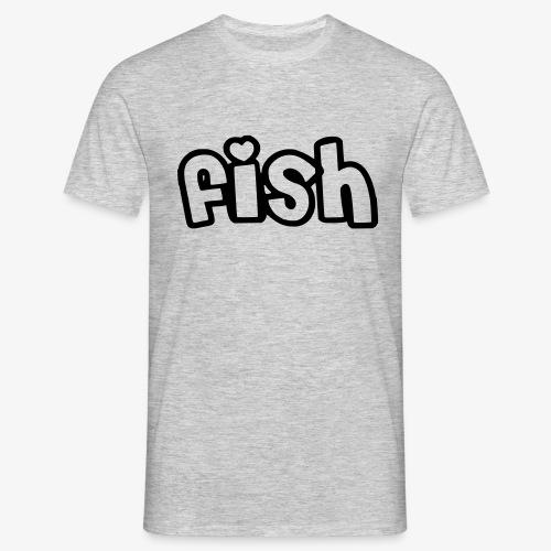 Einfaches Design - Männer T-Shirt