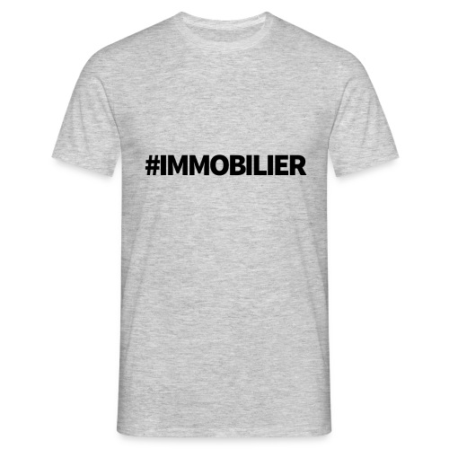 IMMOBILIER - T-shirt Homme