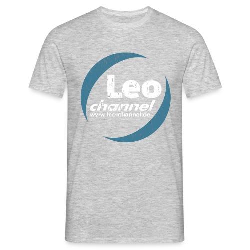 T Shirt Logo Dirty - Leo Channel - Männer T-Shirt