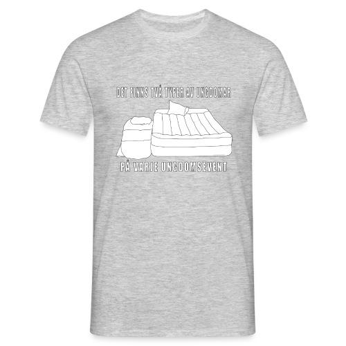 Två typer av ungdomar - T-shirt herr