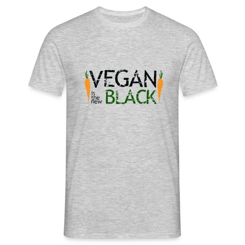 Vegan is the new black - Camiseta hombre