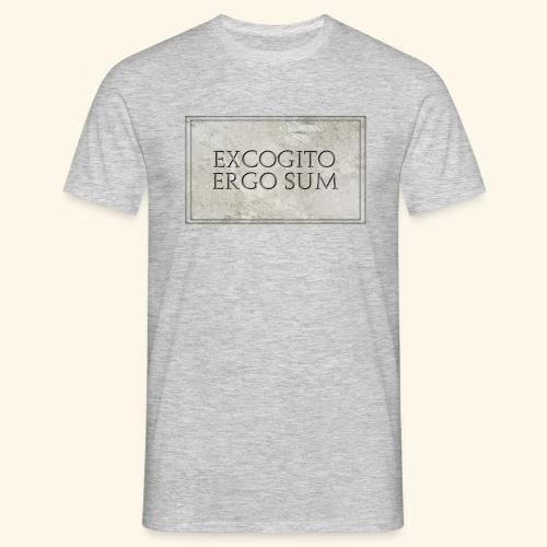 Excogitoergosum - Maglietta da uomo