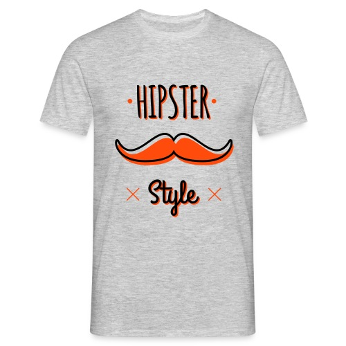 Hipster Style - T-shirt Homme