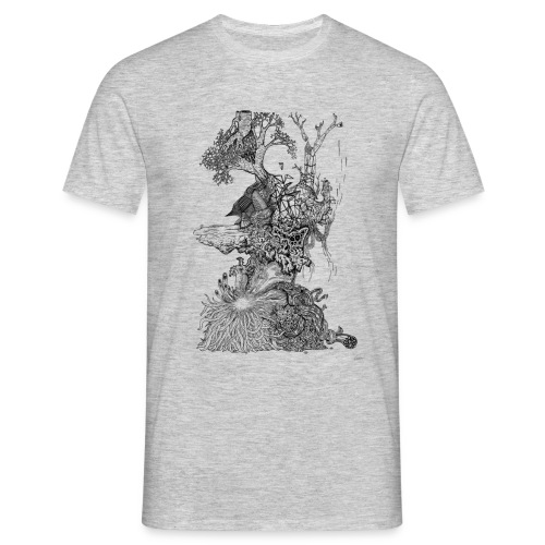 Demodern Design - Pattern Tree - Männer T-Shirt
