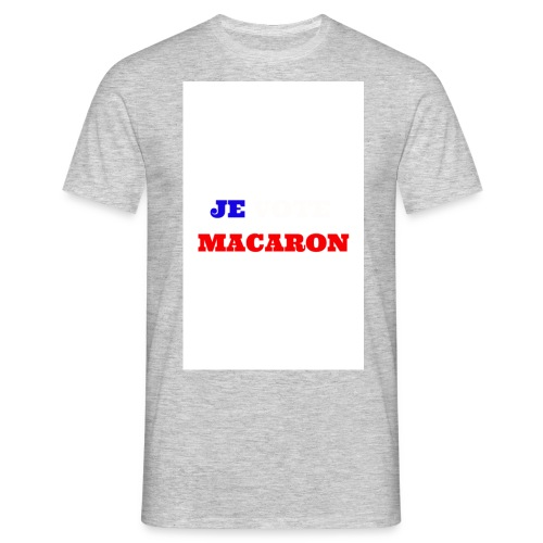 JE VOTE MACARON - T-shirt Homme