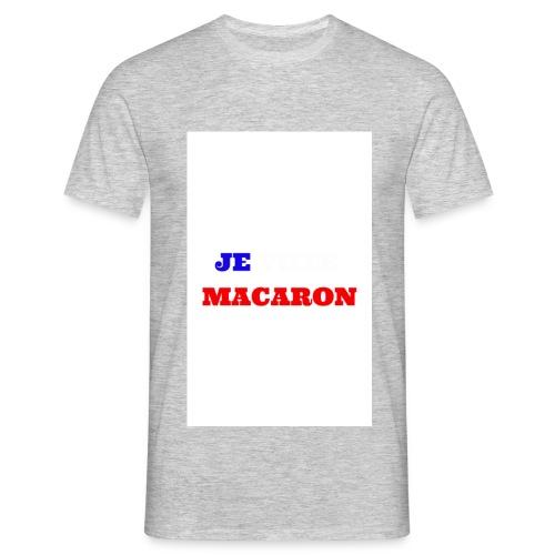 JE VOTE MACARON - T-shirt Homme