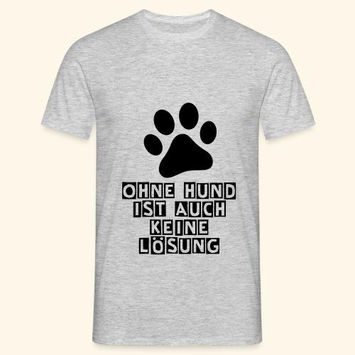 Das Shirt für Hundefreunde - Männer T-Shirt