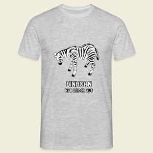 Zebra - Männer T-Shirt