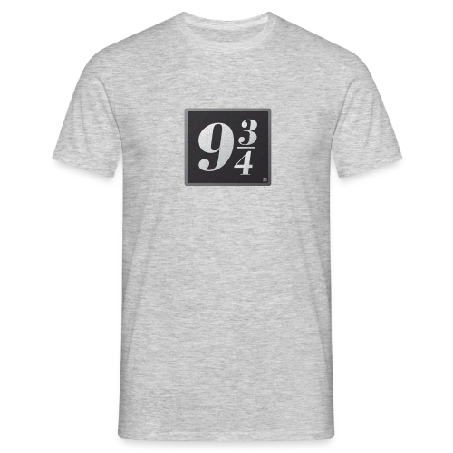 Andén nueve y tres cuartos - Camiseta hombre