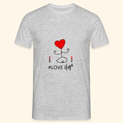 loveyoga - Maglietta da uomo
