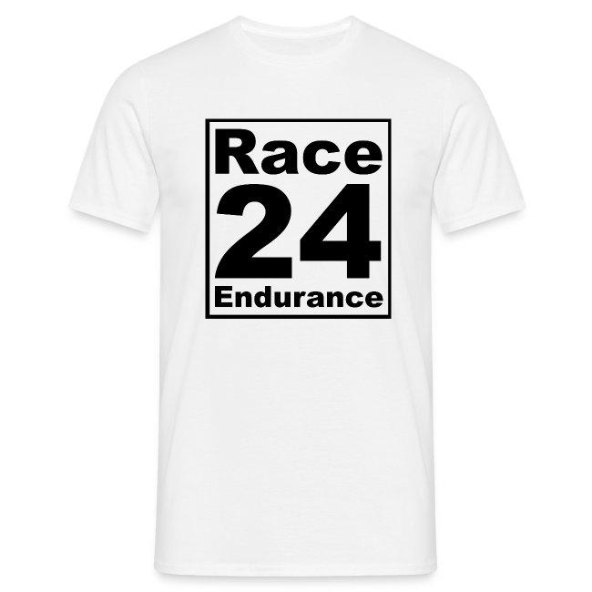 Race24 logo in black