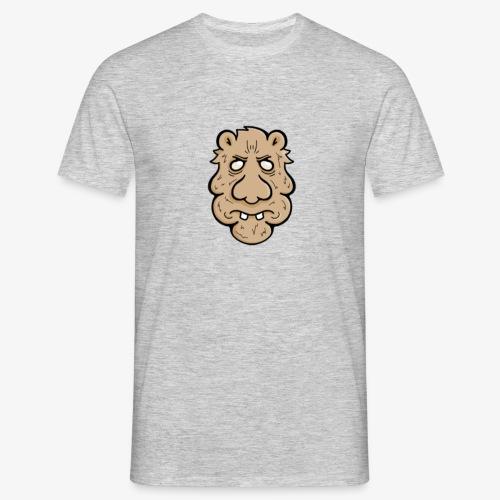 Grumpy Bearface - Men's T-Shirt