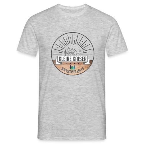 Sticker KleineKaiser grau outlines Zeichenfla che - Männer T-Shirt