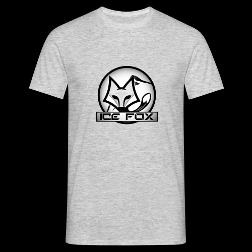 Ice Fox Logo - Mannen T-shirt