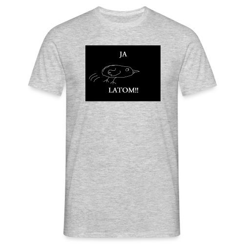 Ja Latom! - Koszulka męska