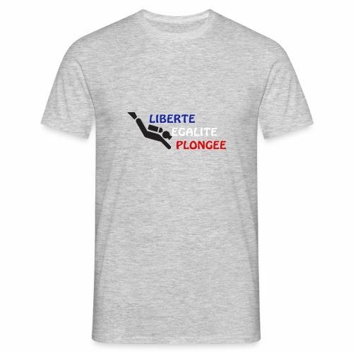 devise plongée - T-shirt Homme