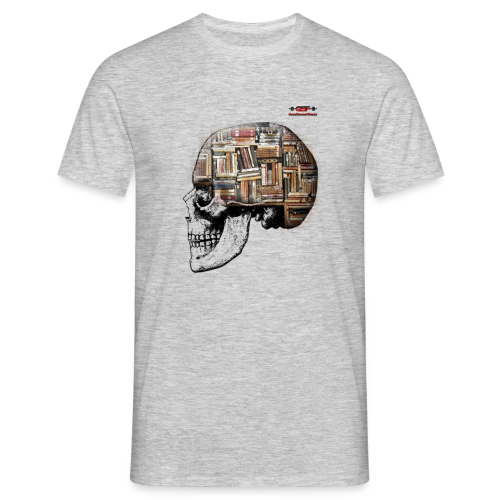 GSF MIND FULL OF BOOKS DESIGN - Männer T-Shirt