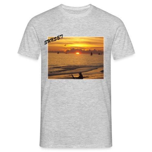 Sunset - Männer T-Shirt