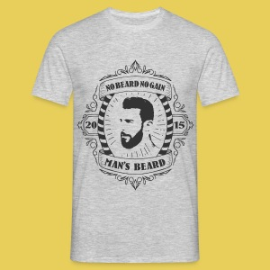 No Beard No Pain - T-shirt Homme