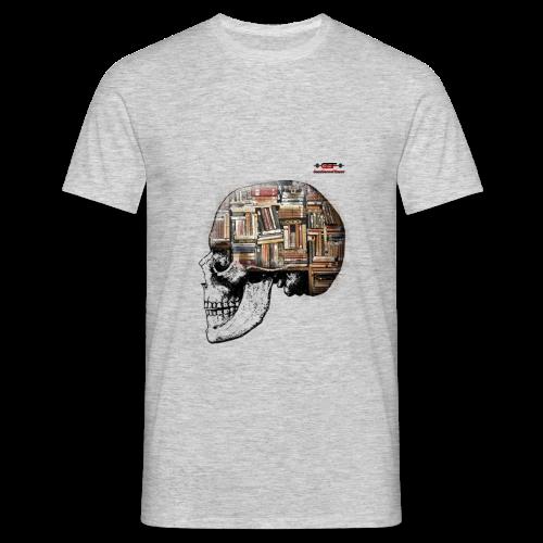 GSF MIND FULL OF BOOKS DESIGN - Männer T-Shirt