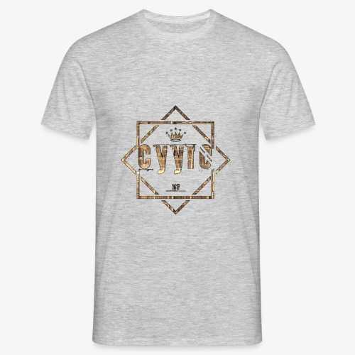 Cyyro Official Logo GOLD - Männer T-Shirt