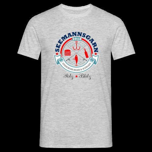 geweihbär Seemannsgarn 3 - Männer T-Shirt
