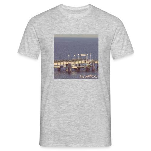 Küste Steg - Männer T-Shirt