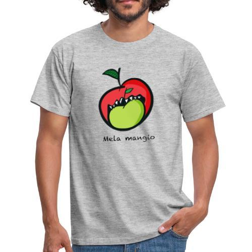 Angry for apple-Mela mangio - Maglietta da uomo
