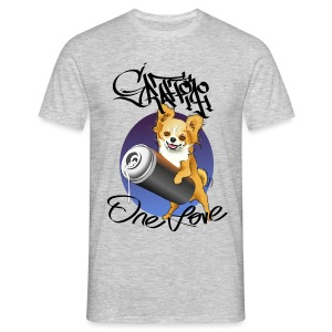 Chihuahua graffiti one love - Men's T-Shirt