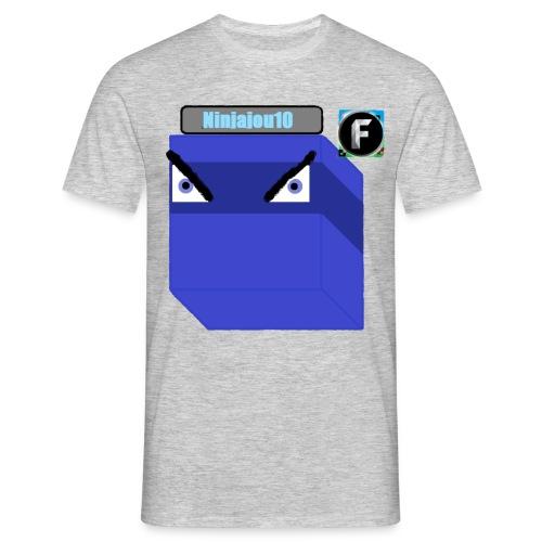 Ninjajou10 T-shirt (with the Freedom! logo) - Men's T-Shirt