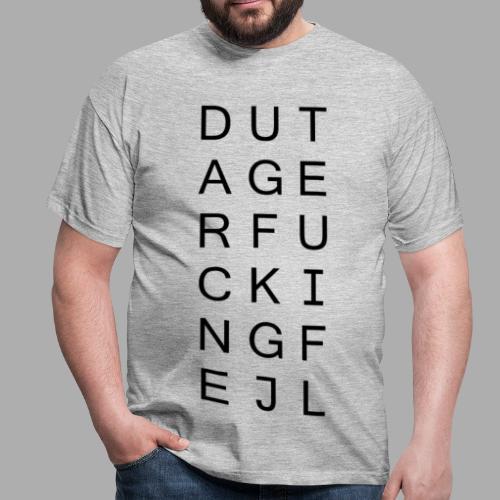 DTFN Black - Herre-T-shirt