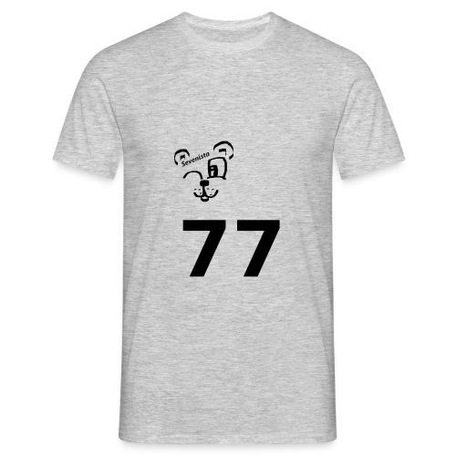 77 for the win - Männer T-Shirt