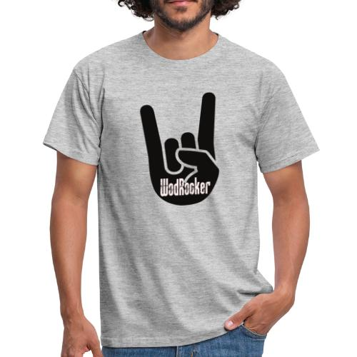 wodrocker Rock out Logo - Men's T-Shirt