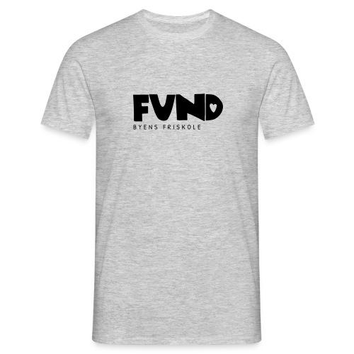 FUND Friskole - Herre-T-shirt