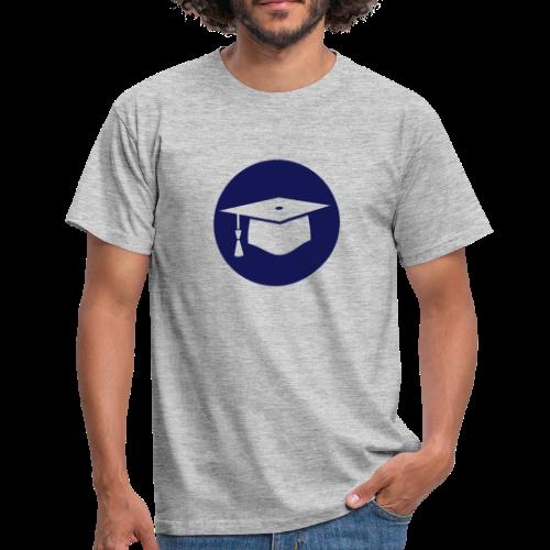 Doktorhut Kreis Geschenkidee Promotion Examen - Männer T-Shirt