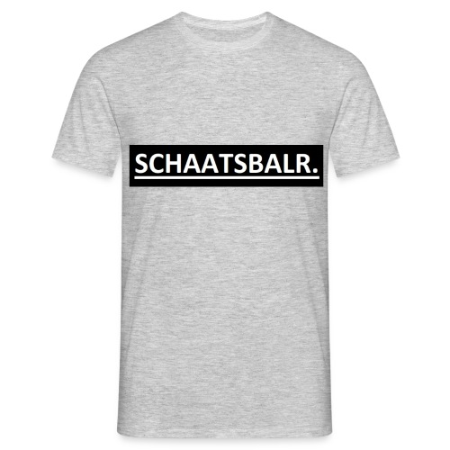 Schaatsbalr. - Mannen T-shirt