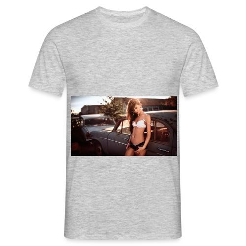 wallpaper 46b6d - Männer T-Shirt
