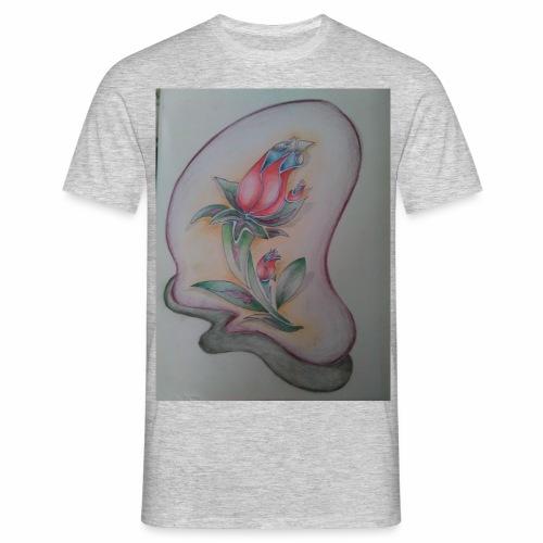 fiore magico - Maglietta da uomo