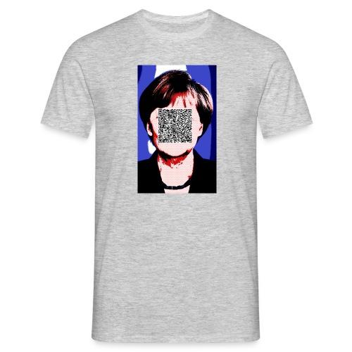 Merkel_bunt_mit_Amtseid - Männer T-Shirt